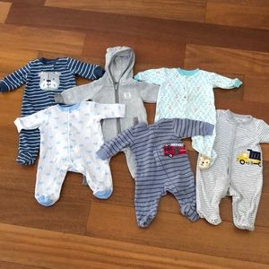 15 Piece Baby Boys Clothes (3 Months)